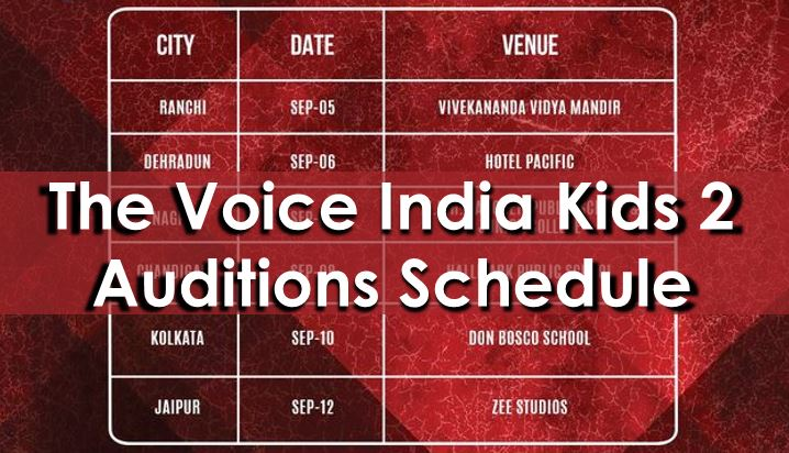 the_voice_kids_india_audition_schedule