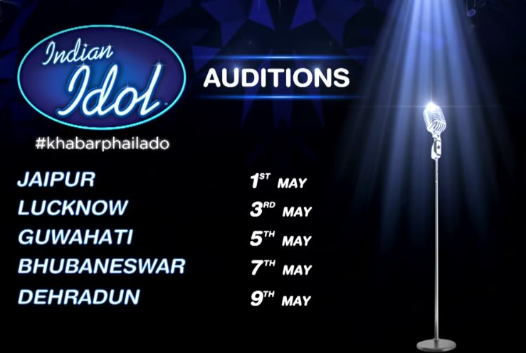 Indian Idol 2018 Auditions, Registration: Date, Time, Venue