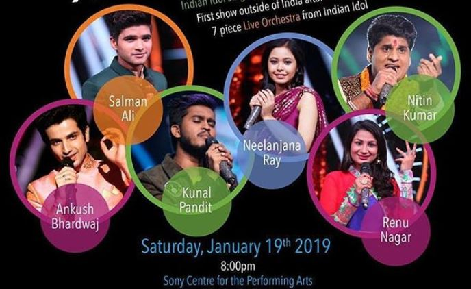 Indian Idol 10 Live Concert in Canada | Book Your Tickets